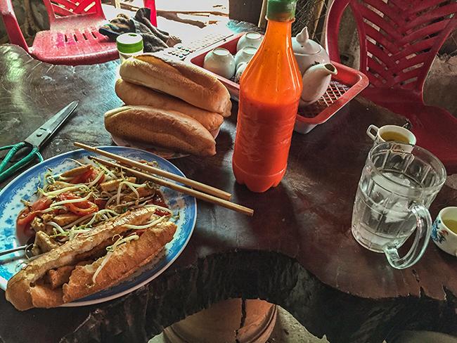 Breakfast stop