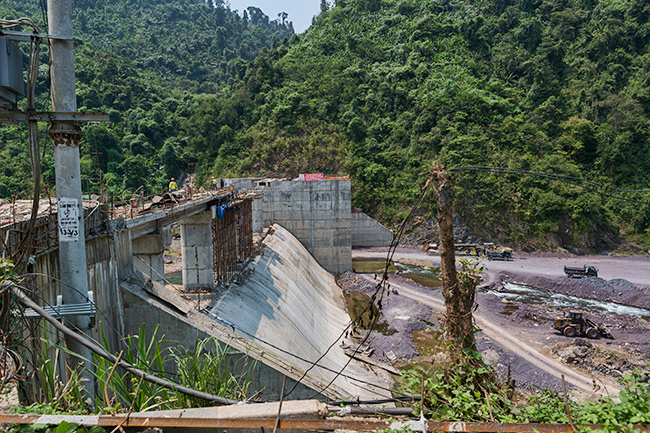 A new dam will change things for sure