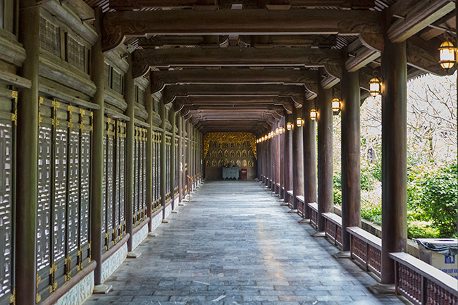 One of the walkways
